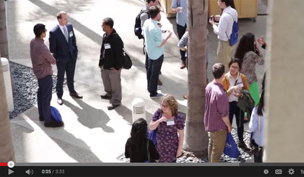 Screenshot of We are UCI Law video
