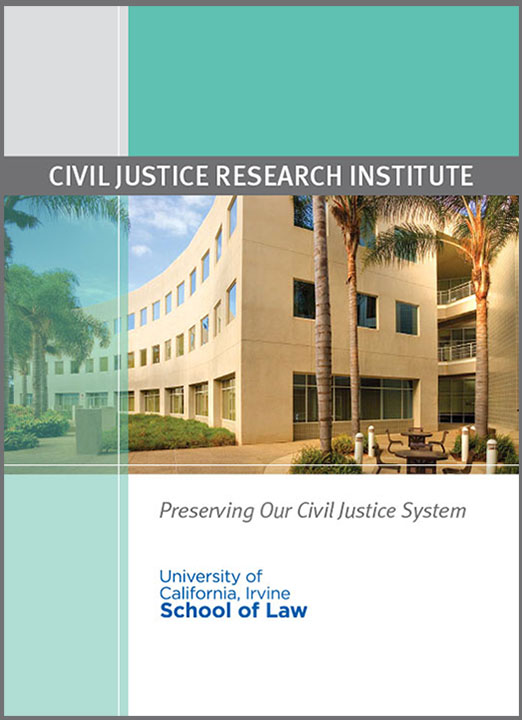 Civil Justice Research Institute Brochure