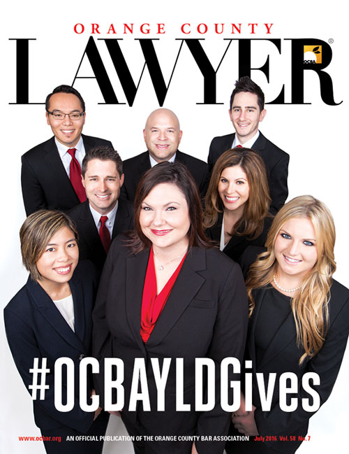 Image of OC LawyerJuly 2016 cover